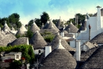 Image of trulli in Alberobello, Italy